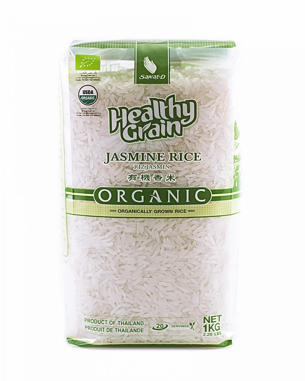 """Органический тайский белый рис """"Жасмин"""", 1кг"""