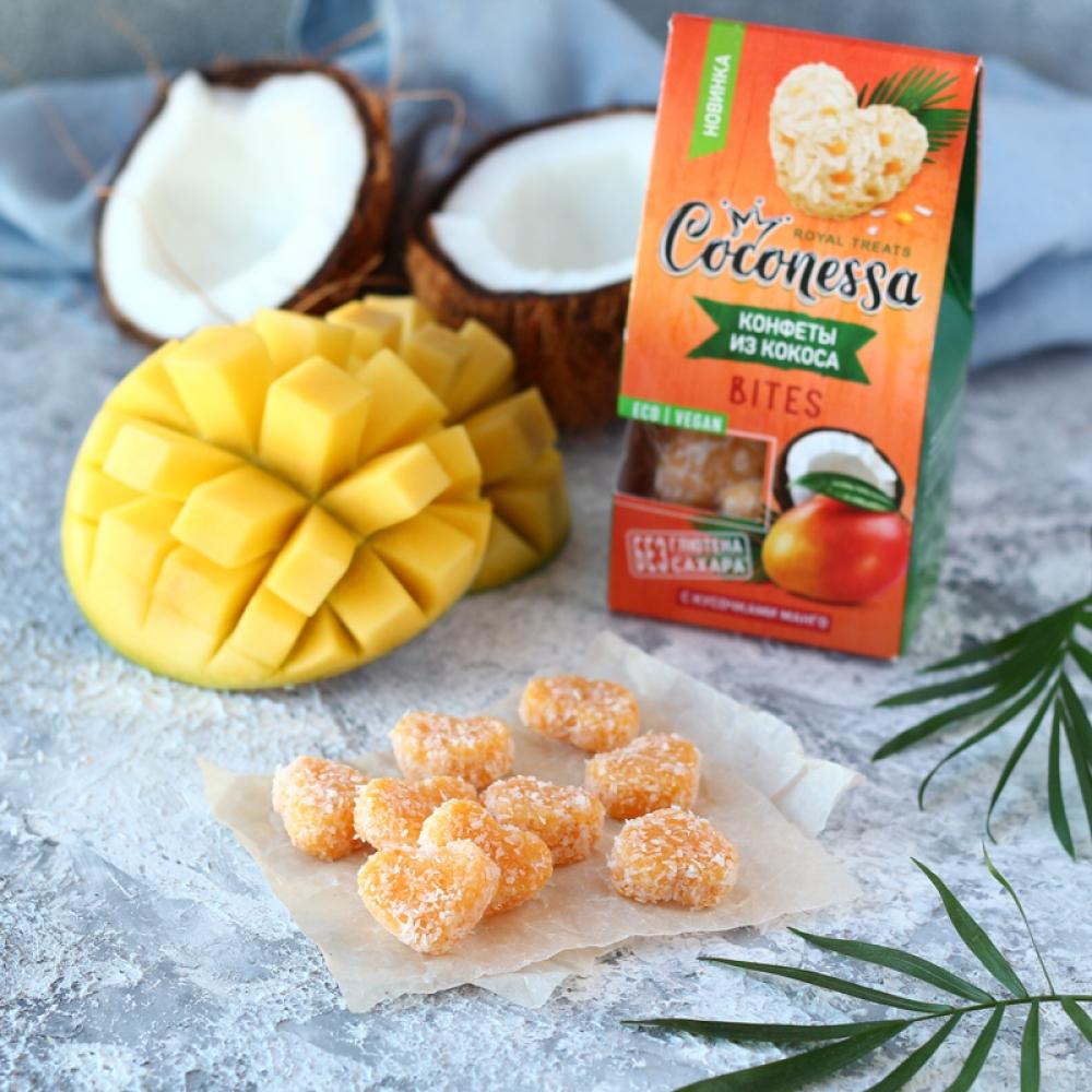 Кокосовые конфеты с манго, Coconessa