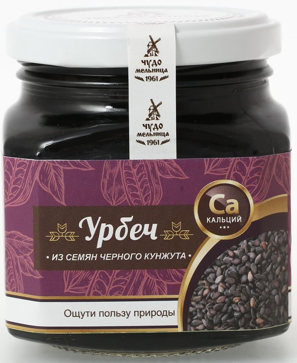 Урбеч из семян черного кунжута