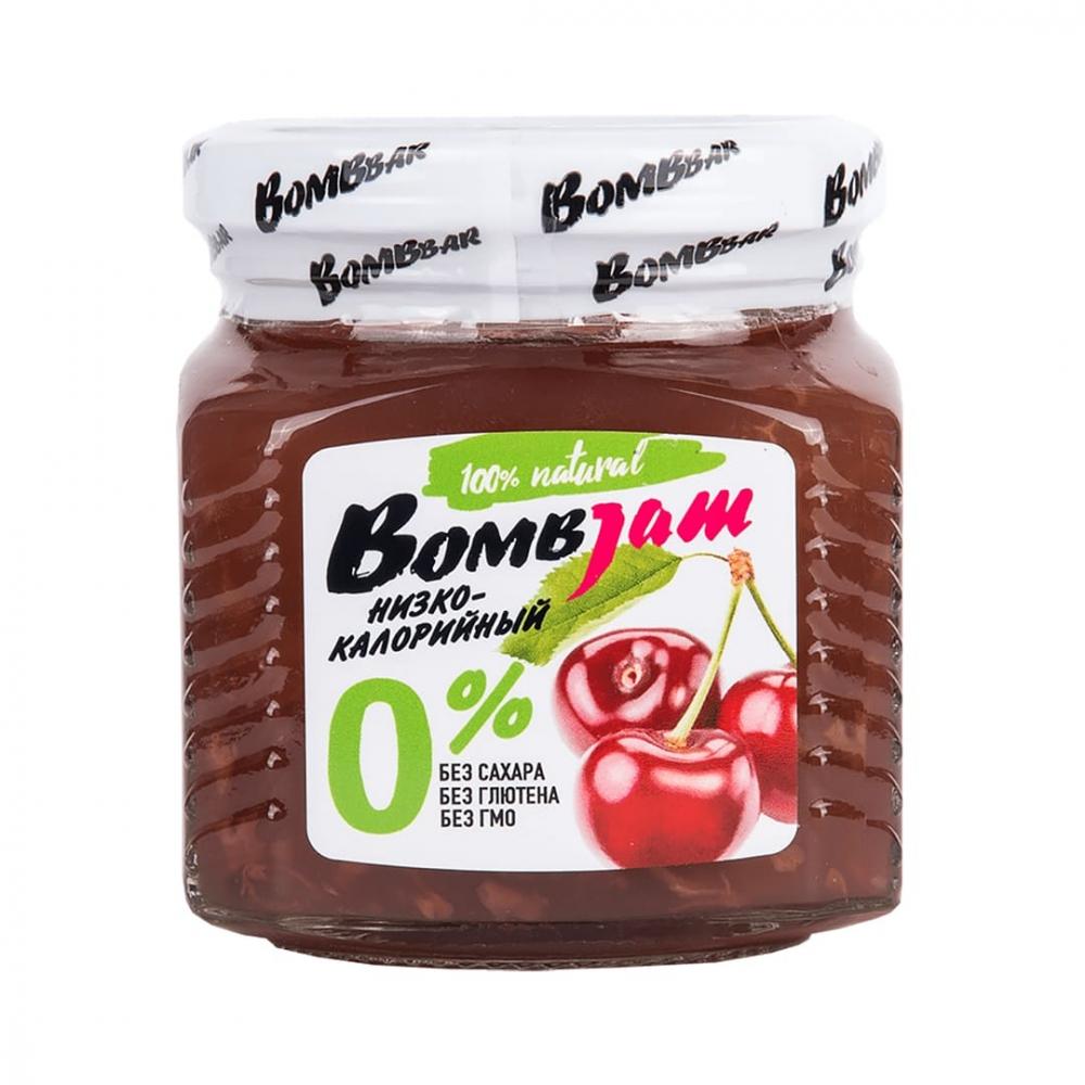 """Джем низкокалорийный BombJam """"Вишня"""", Bombbar"""
