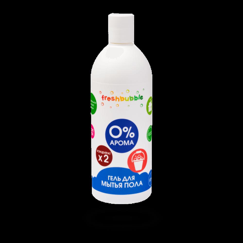 Гель для мытья полов без аромата, 500мл. FreshBubble