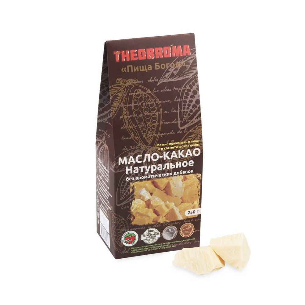 Масло какао, натуральное THEOBROMA [Пища Богов]