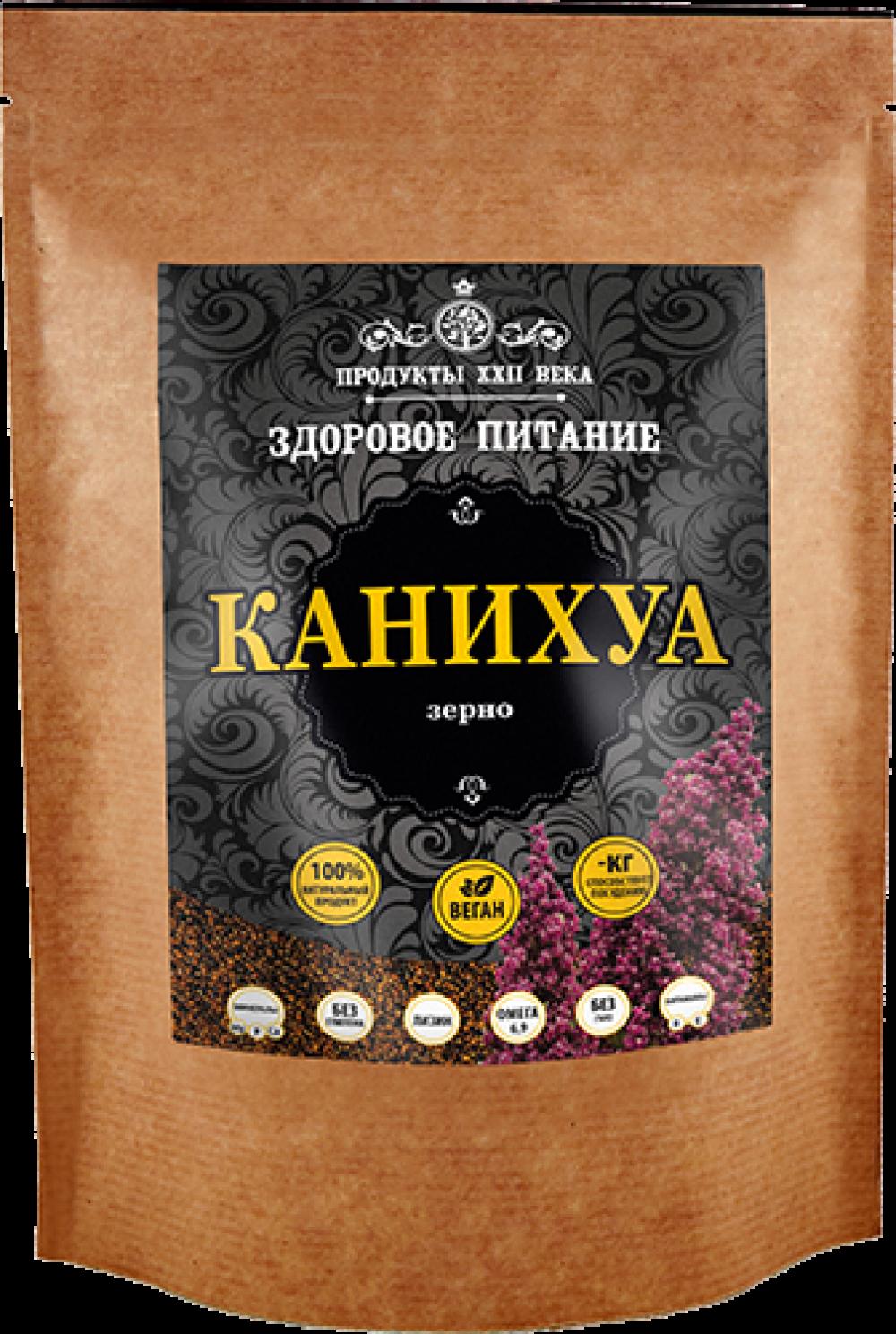 Канихуа Премиум, зерно, Продукты XXII века