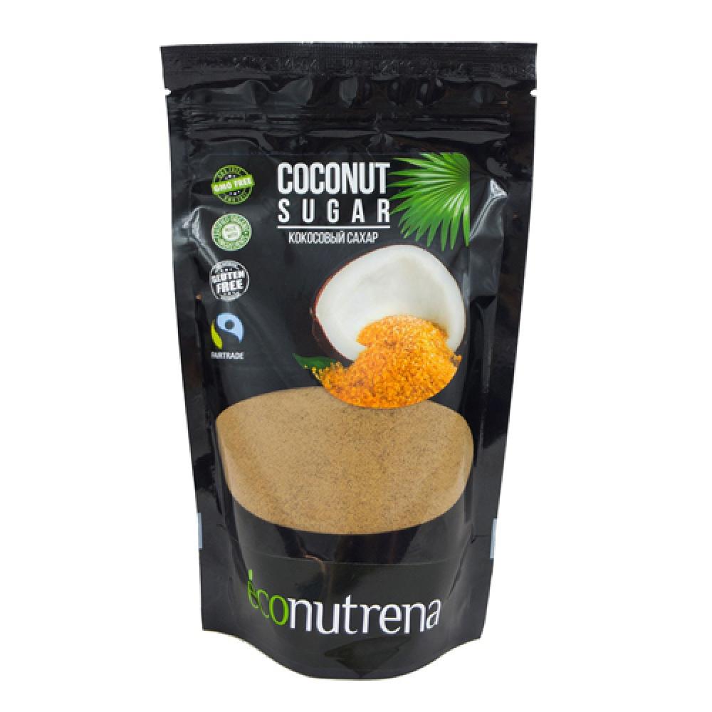 Кокосовый сахар органический, ECONUTRENA