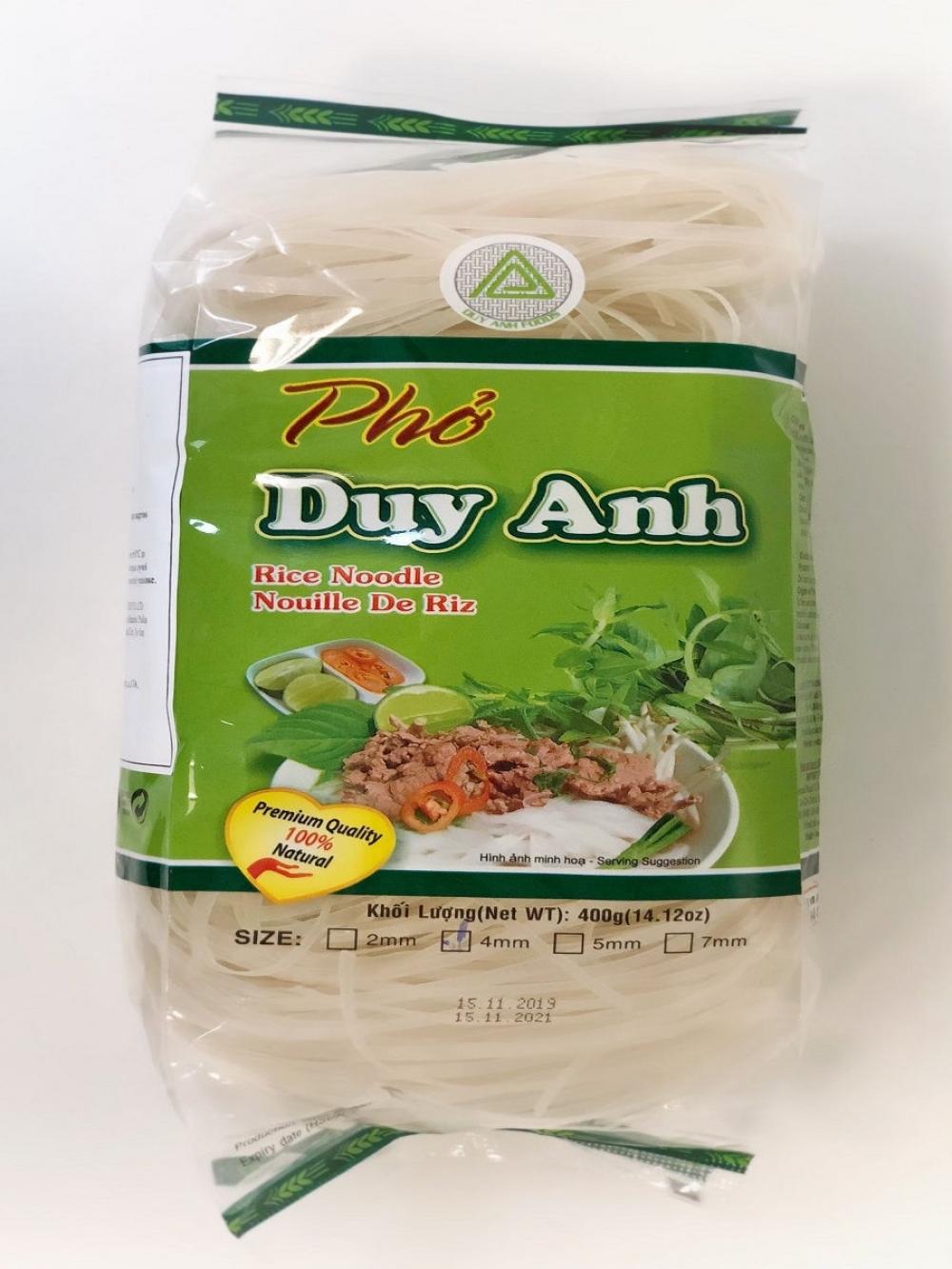 Лапша рисовая Duy Anh, 400г.
