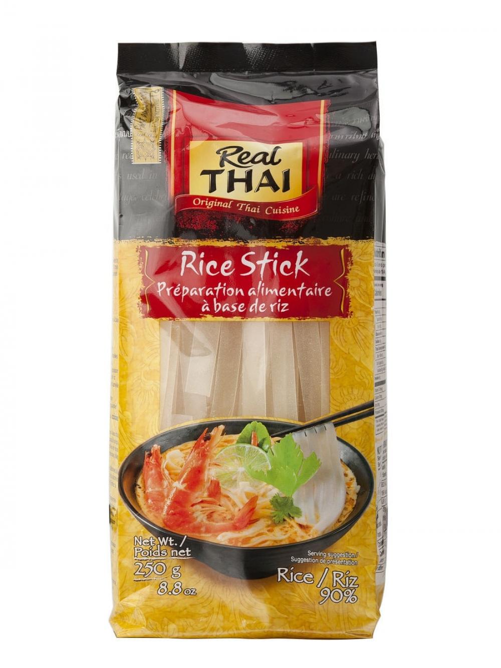 Лапша рисовая 10мм Real Tang, 250г.