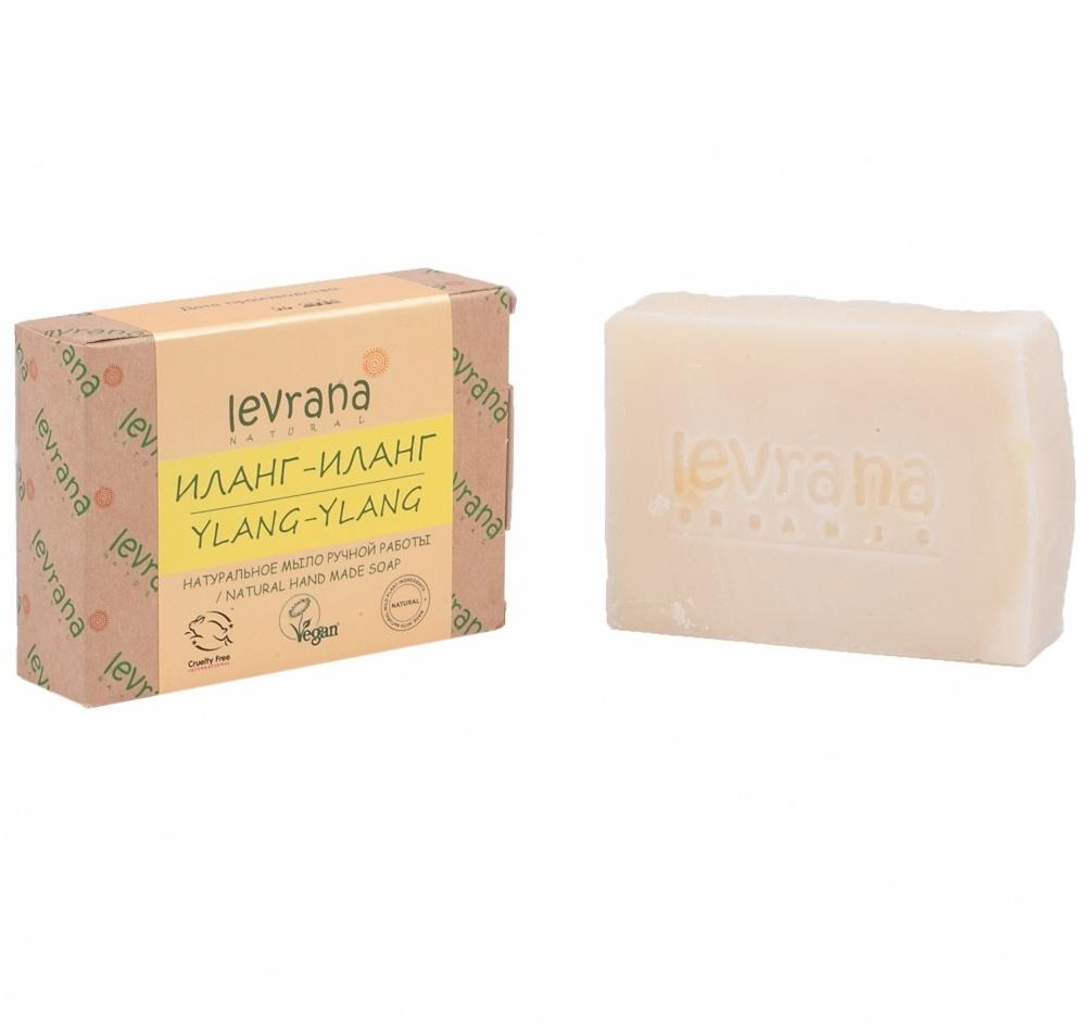Натуральное мыло ручное работы, иланг-иланг, 100гр.