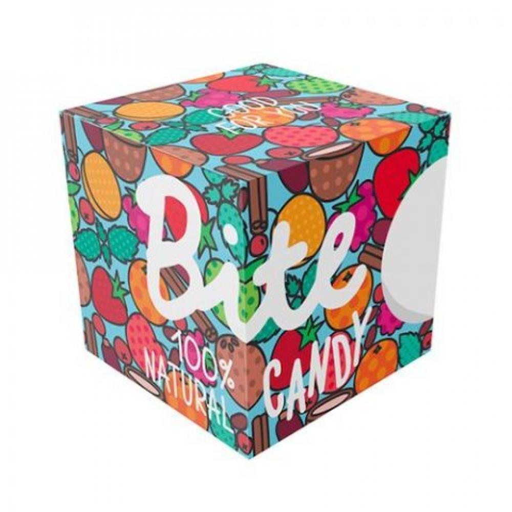 Набор фруктово-ягодных батончиков Bite Candy голубой, 120 гр