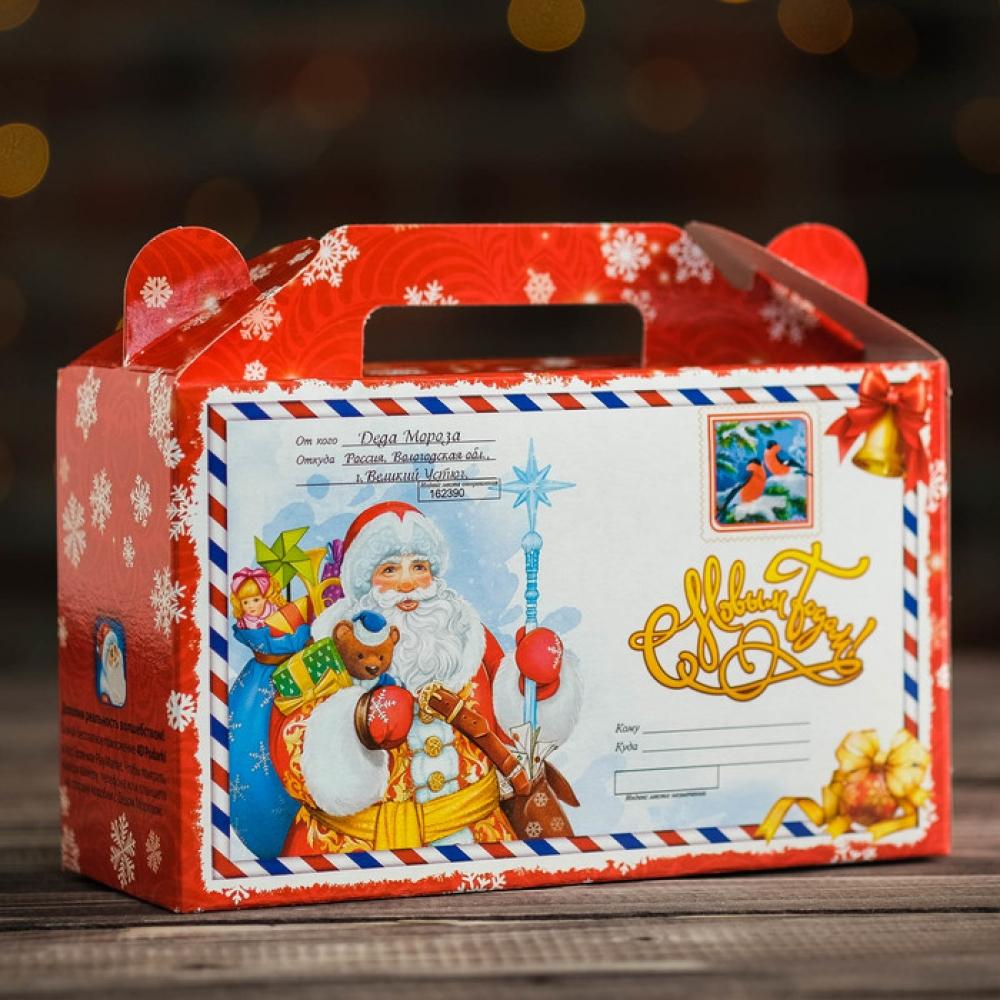"""Детский новогодний подарок БЕЗ САХАРА """"Письмо от Деда Мороза"""""""