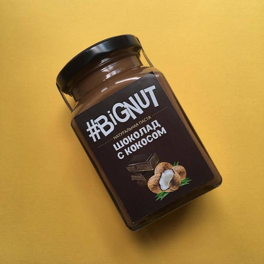 Паста кокосовая с Бельгийским шоколадом, 240гр.