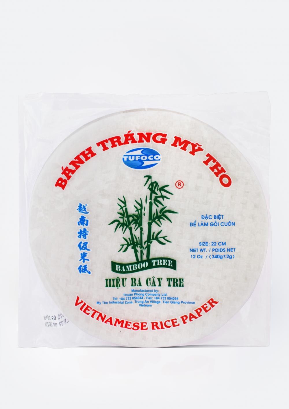 """Рисовая бумага """"Bamboo Tree"""" (22см, 35 листов), 340 г"""