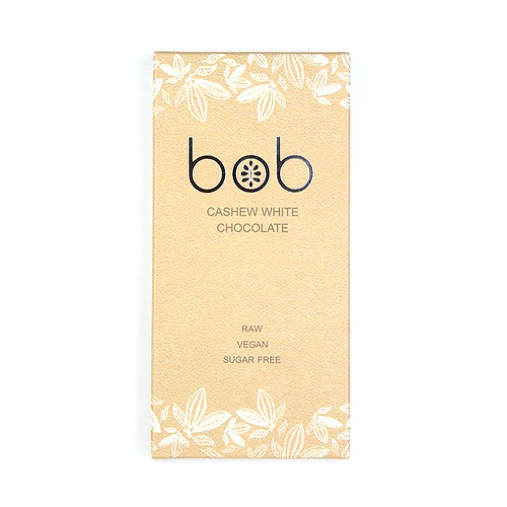Шоколад белый, на молочке из кешью, 50г. BOB