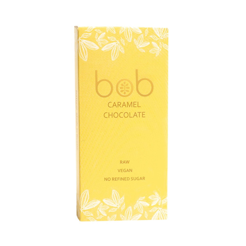 Шоколад карамельный, 50г. Bob
