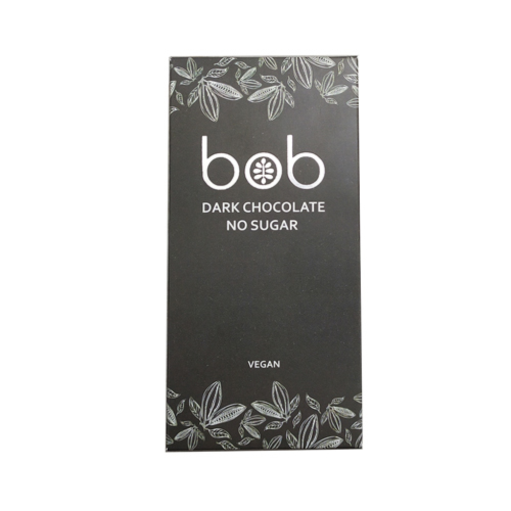 Шоколад тёмный, низкоуглеводный, 50г. Bob