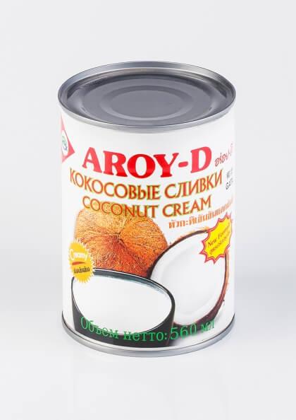 Кокосовые сливки Aroy-d