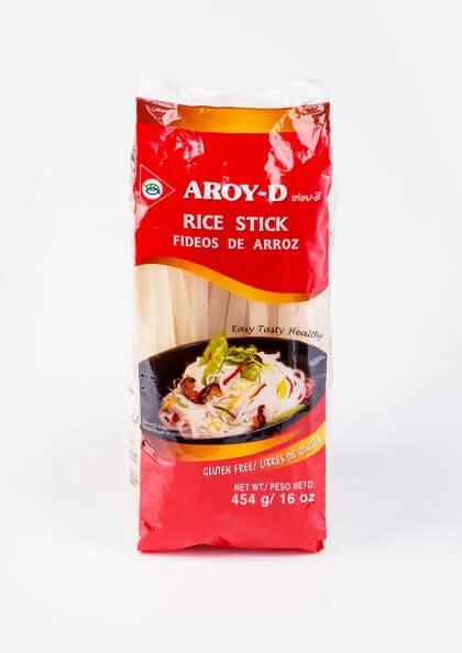 Рисова лапша Aroy-d, 10мм