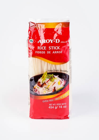 Рисовая лапша Aroy-d, 1мм
