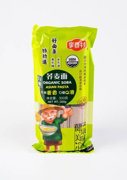 Органическая пшеничная лапша УДОН