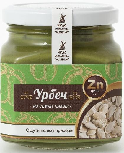 Урбеч из семян тыквы