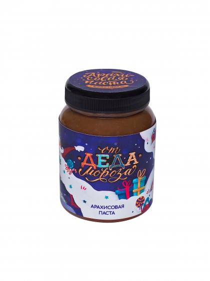 Арахисовая паста от деда Мороза с шоколадом, 330г.