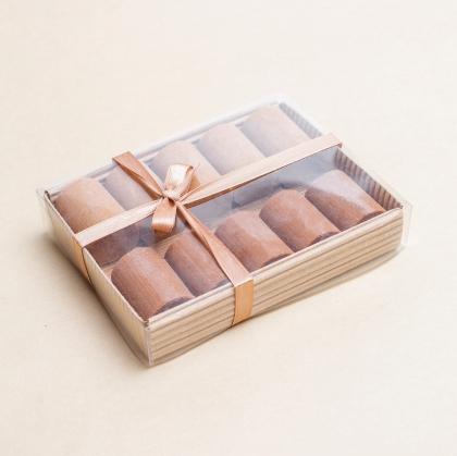 Ассорти из шоколадно-ореховых батончиков (10 шт.), Bob