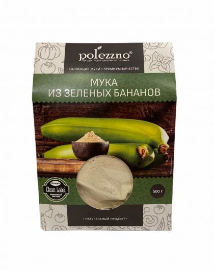 Мука из зеленых бананов, Polezzno