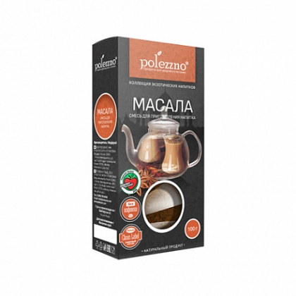"Чай ""Масала"", 100 г, Polezzno"
