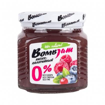 """Джем низкокалорийный BombJam """"Лесные ягоды"""", Bombbar"""