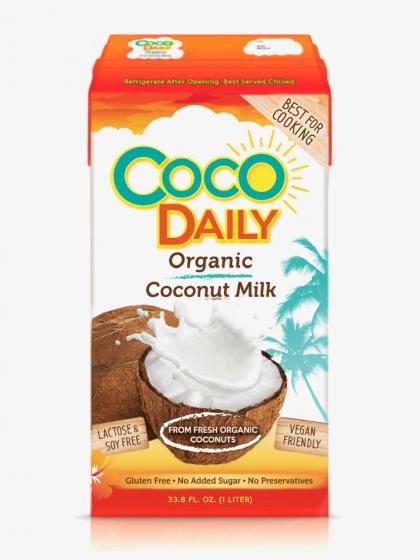 Кокосовое молоко органические Coco Daily, 1л.