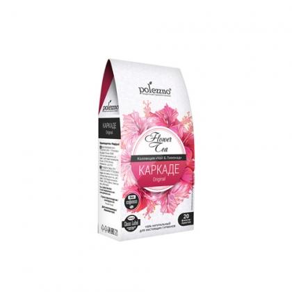 """Напиток """"Каркаде"""", чай 20 фильтр-пакетов, Polezzno"""
