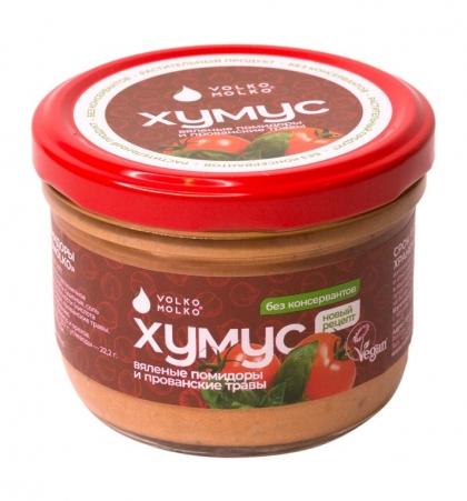 """Хумус """"Вяленые помидоры и прованские травы"""", 200 г, VolkoMolko"""