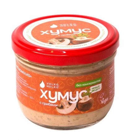 Хумус с грибами, 200 г, VolkoMolko