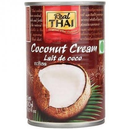 кокосовые сливки REAL THAI, 400мл.