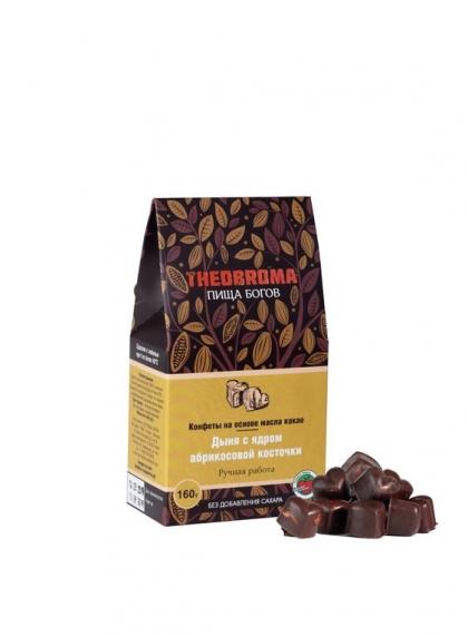 """Конфеты без сахара """"Дыня в шоколаде"""" THEOBROMA, 160гр."""