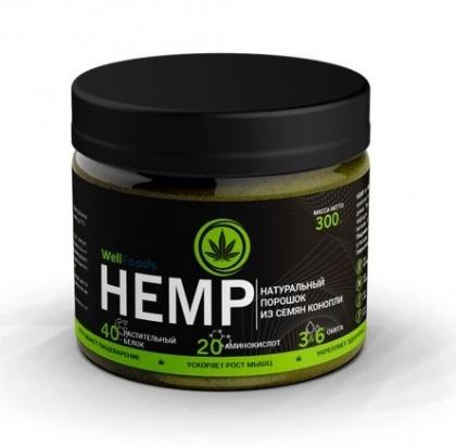Протеин растительный (конопляный) HEMP