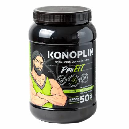 Конопляный протеин KONOPLIN, 1000 гр, Конопель