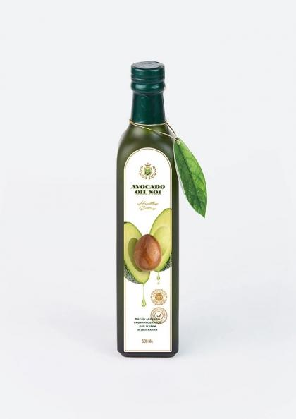Авокадо масло рафинированное для жарки и запекания