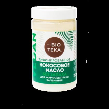 Кокосовое масло, рафинированное, 750 мл. BIOTEKA