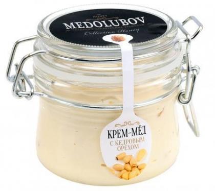 Крем-мед с кедровым орешком, 250мл. (бугель)