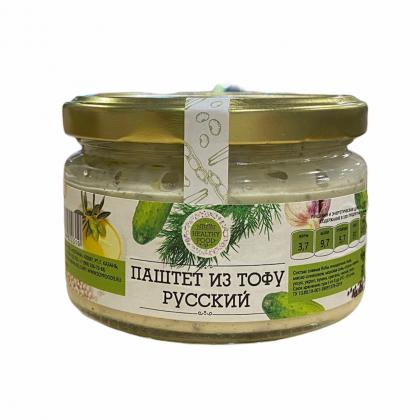 """Паштет из тофу """"Русский"""" соевый"""