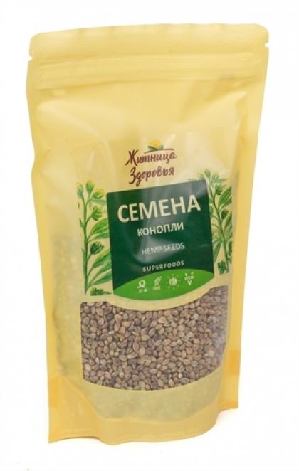 Семена конопли пищевой, 180гр.