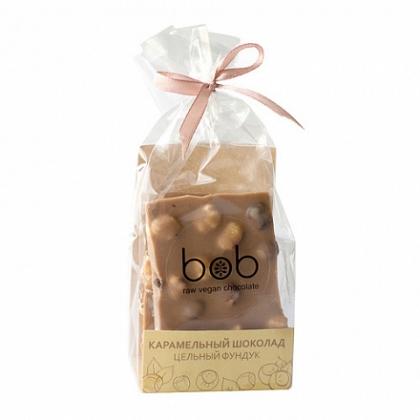"""Шоколад карамельный """"Цельный фундук"""", Bob"""