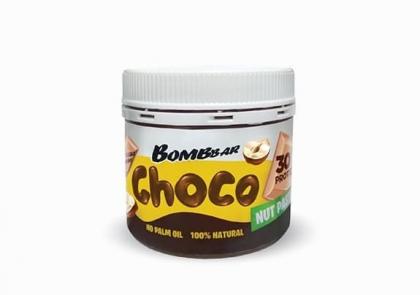 Шоколадная паста с фундуком, Bombbar