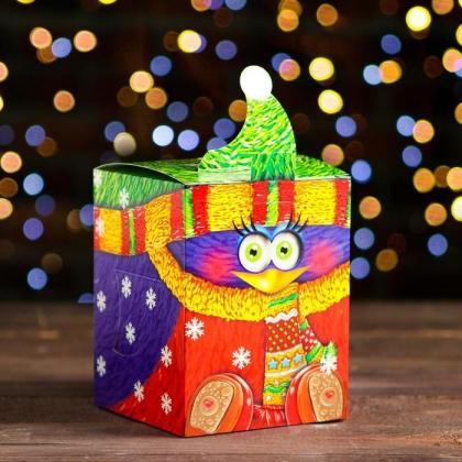 """Детский новогодний подарок без сахара """"Снегирь"""""""