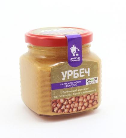 Урбеч из лесного ореха (фундука)