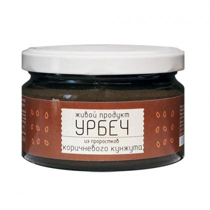 Урбеч из семян коричневого кунжута, 225г.