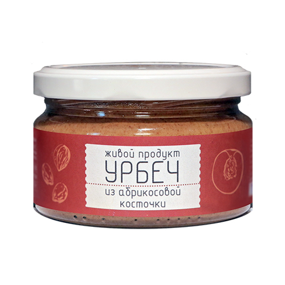 Урбеч из абрикосовой косточки, 225г.