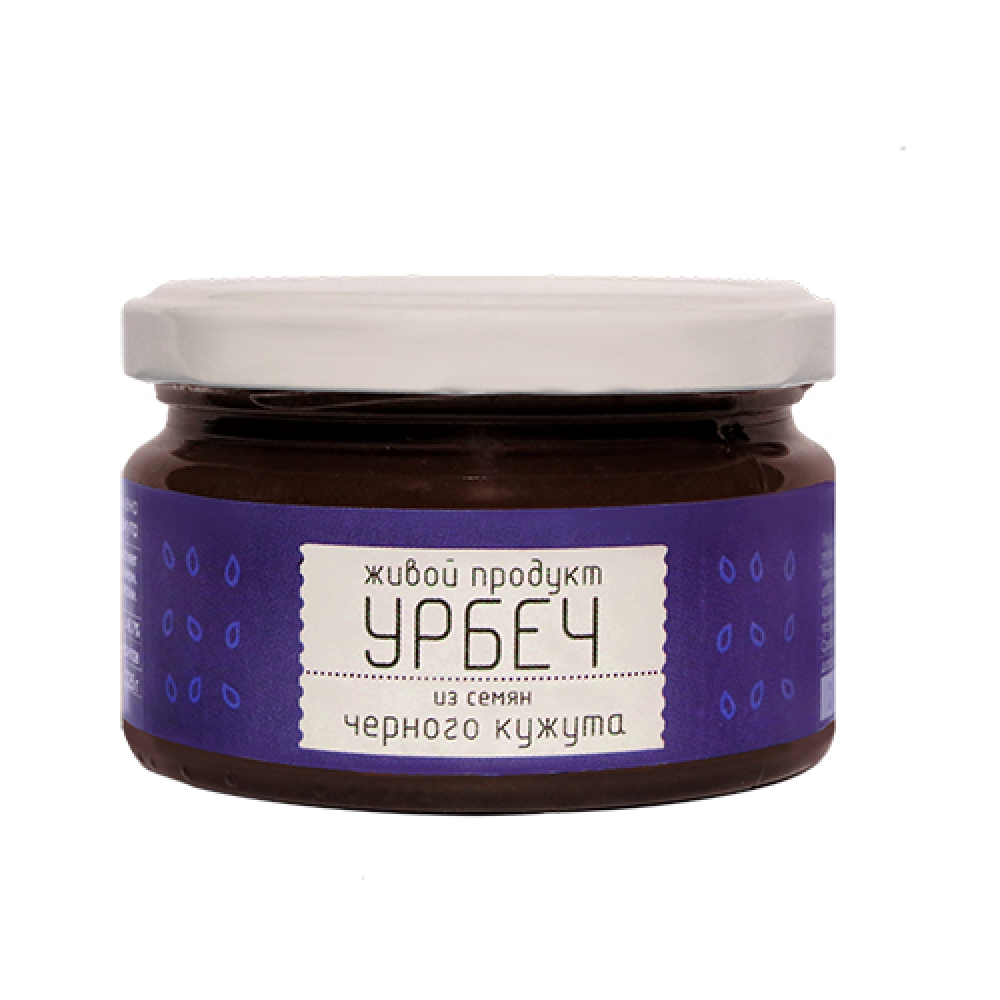 Урбеч из семян черного кунжута, 225г.